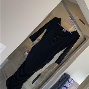 Nom quarter sleeve nursing dress